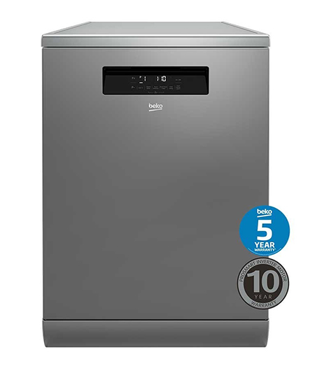 Beko 16Ps Stainless Steel Dishwasher – Factory Second (BDF1630X-FSC)