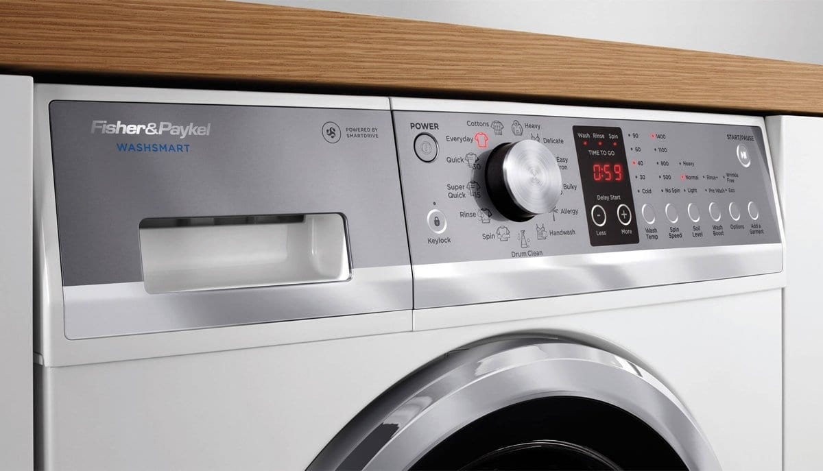 Fisher Amp Paykel Front Load Washer 8 5kg 13 Cycles 1400rpm