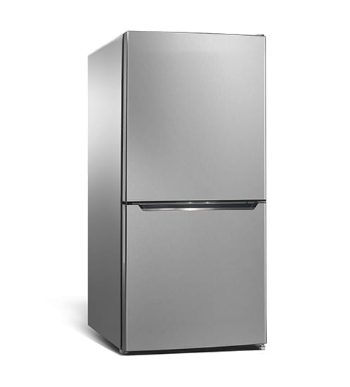 CHiQ Bottom Mount Fridge 251L Silver (CBM250S)