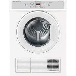 Factory Second Fisher And Paykel Vented Dryers 6Kg Vented Dryer 1400 Rpm 4 Wash Programs 2 Star Energy Auto Sensi De6060M1Fsa