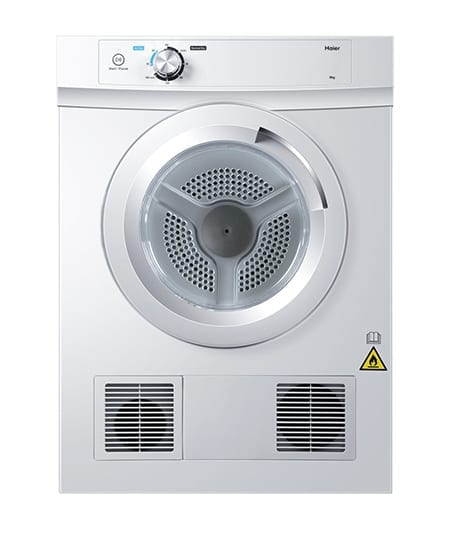 Haier Vented Dryers 6kg White (HDV60A1)