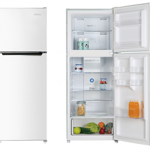 Chiq 370L White Top Mount Fridge | Sunshine Coast Washers and Fridges