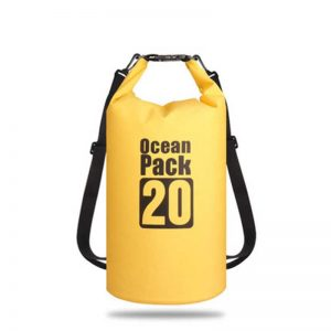 OCEAN 20L Yellow Floating Waterproof Dry Bag