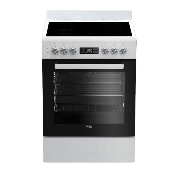 Beko 60cm Vitroceramic Upright Cooker - Factory Second | Sunshine Coast Washers and Fridges