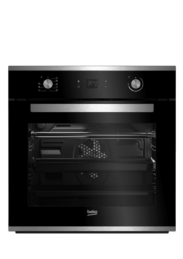 Beko 60cm 82L Multi-FunctionPyrolytic Electrical Wall Oven - Factory Second | Sunshine Coast Washers and Fridges