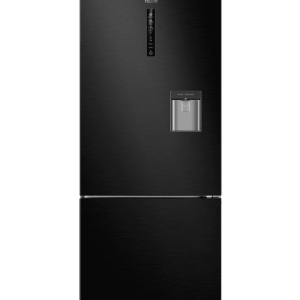 Haier 450L Bottom Mount Black Fridge | Top Quality Washers & Fridges | Sunshine Coast Washers and Fridges