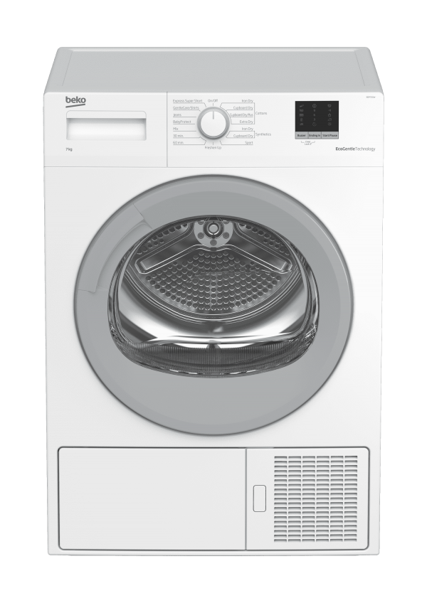 Beko 7kg Heat Pump Dryer - Factory Second | Sunshine Coast Washers and Fridges